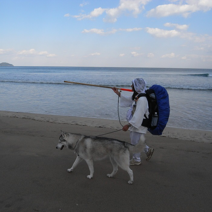 Memory of the second pilgrimage with Second husky HANA_c0049299_1795198.jpg