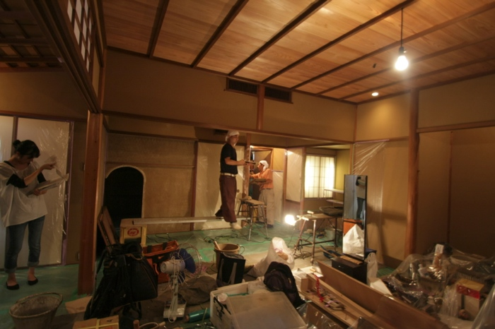 築30年の茶室改修_f0156448_15524687.jpg