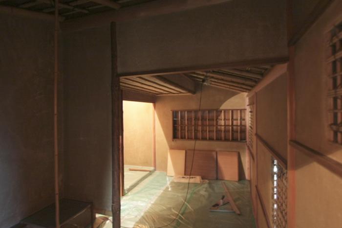 築30年の茶室改修_f0156448_1553846.jpg