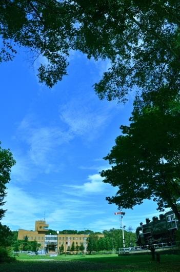 2013年9月6日(金):青空2日目、でも涼しげ[中標津町郷土館]_e0062415_20155593.jpg