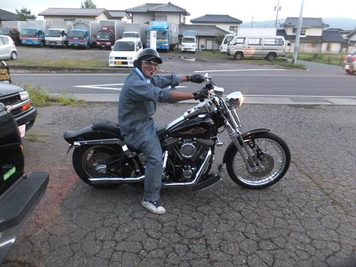 チョッパージャーナル取材・・・納車とかイロイロ_a0257316_1331422.jpg