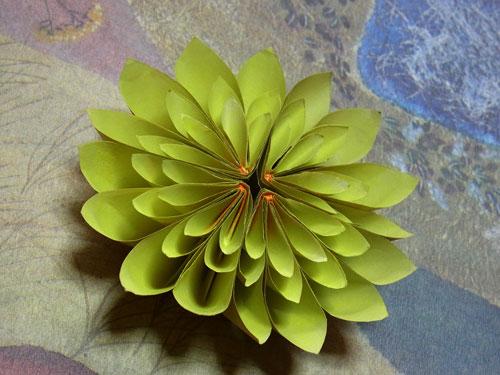 クリスマス 折り紙 折り紙で作る花 : akpearl.exblog.jp