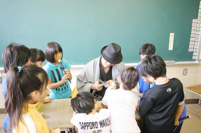 おとどけアート 9月3日(火) 北陽小学校×佐藤隆之_a0062127_15533684.jpg