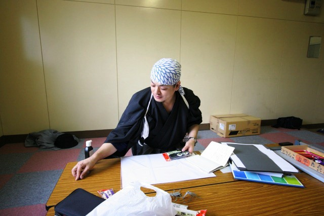おとどけアート 9月3日(火) 北陽小学校×佐藤隆之_a0062127_1604674.jpg