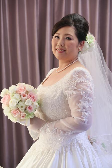 新郎新婦様からのメール 新横浜プリンスホテル様へのブーケ_a0042928_218422.jpg