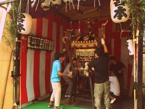 目黒大鳥神社のお祭り 例大祭2013_f0234628_15502873.jpg