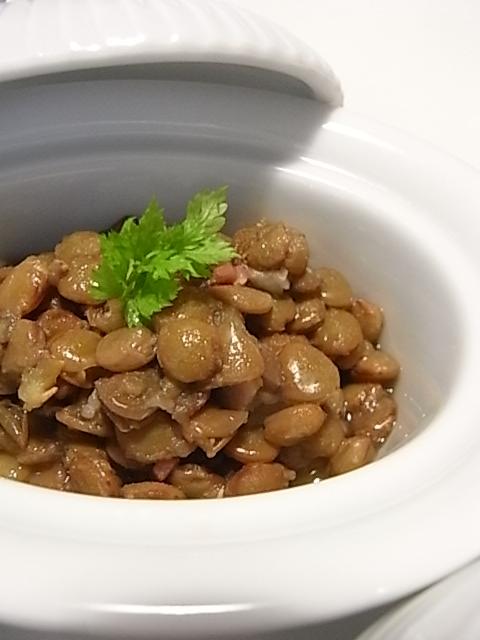 レンズ豆のスープ煮 _b0145846_22161652.jpg