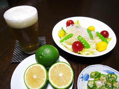 種なしかぼす ビールの新しい飲み方!!『かぼすビール』_a0254656_18314042.jpg