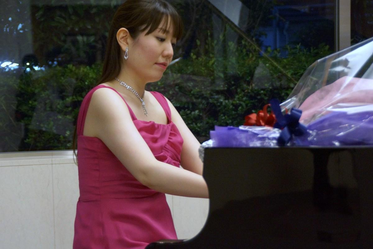 山辺絵里さんピアノリサイタル~サマーコンサート~@ザ・タワー・グランディア_f0006713_22472678.jpg