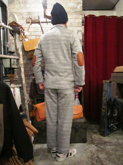 "RIDING HIGH ""SLAB FRENCH TERRY JKT&PANTS\"" ご紹介_f0191324_9485368.jpg"