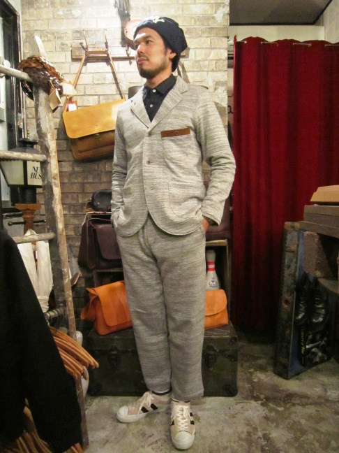 "RIDING HIGH ""SLAB FRENCH TERRY JKT&PANTS\"" ご紹介_f0191324_9493420.jpg"