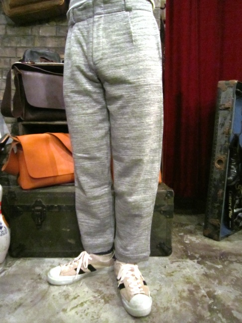 "RIDING HIGH ""SLAB FRENCH TERRY JKT&PANTS\"" ご紹介_f0191324_949894.jpg"