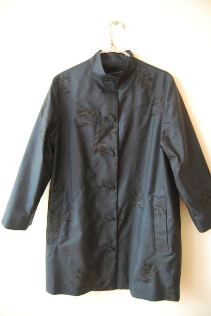 着物リメイク・大島のコート_d0127925_11173597.jpg
