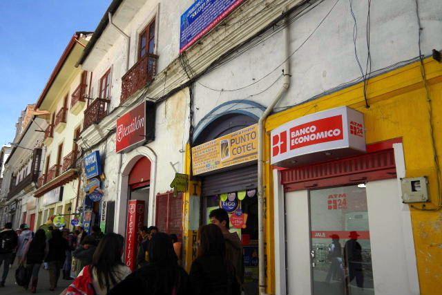 ボリビアの旅(40) 【ラパス】 サガルナガ通りとリナレス通り_c0011649_0113394.jpg