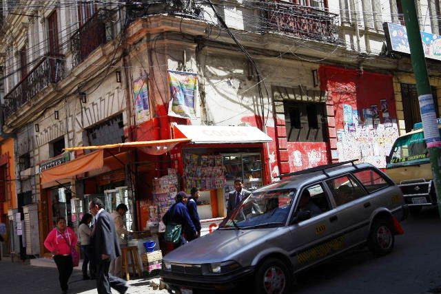 ボリビアの旅(40) 【ラパス】 サガルナガ通りとリナレス通り_c0011649_0123932.jpg