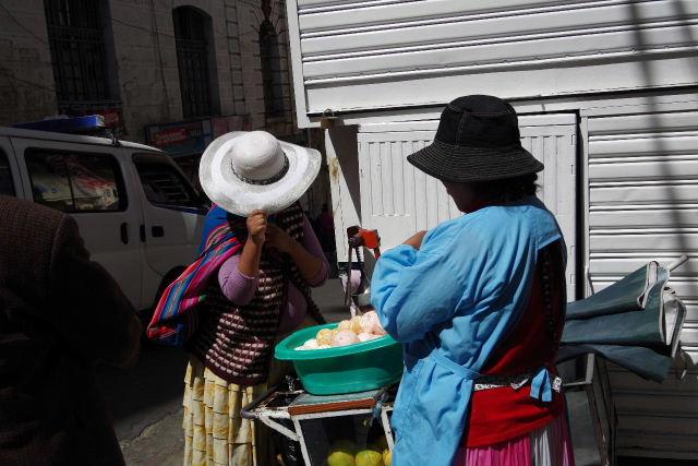 ボリビアの旅(40) 【ラパス】 サガルナガ通りとリナレス通り_c0011649_0131654.jpg