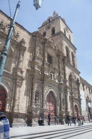 ボリビアの旅(40) 【ラパス】 サガルナガ通りとリナレス通り_c0011649_014587.jpg
