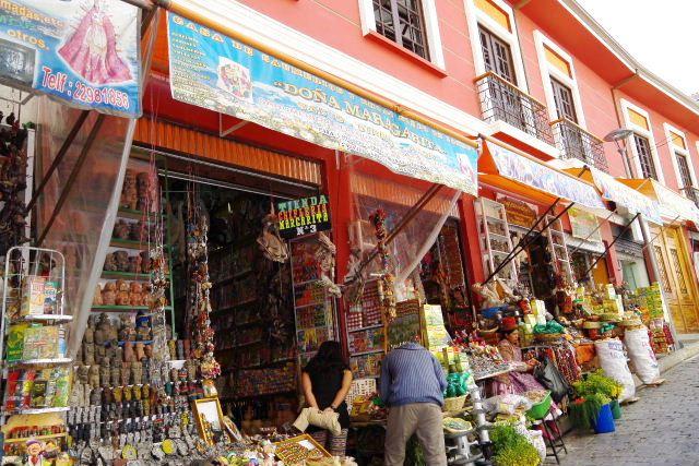 ボリビアの旅(40) 【ラパス】 サガルナガ通りとリナレス通り_c0011649_032296.jpg