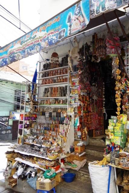 ボリビアの旅(40) 【ラパス】 サガルナガ通りとリナレス通り_c0011649_032438.jpg