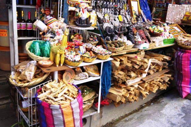 ボリビアの旅(40) 【ラパス】 サガルナガ通りとリナレス通り_c0011649_0331340.jpg