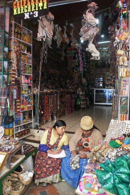 ボリビアの旅(41) 【ラパス】 リナレス通りとラ・カソナでランチ_c0011649_19322314.jpg