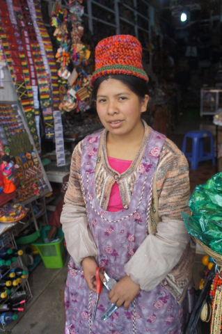 ボリビアの旅(41) 【ラパス】 リナレス通りとラ・カソナでランチ_c0011649_19332283.jpg