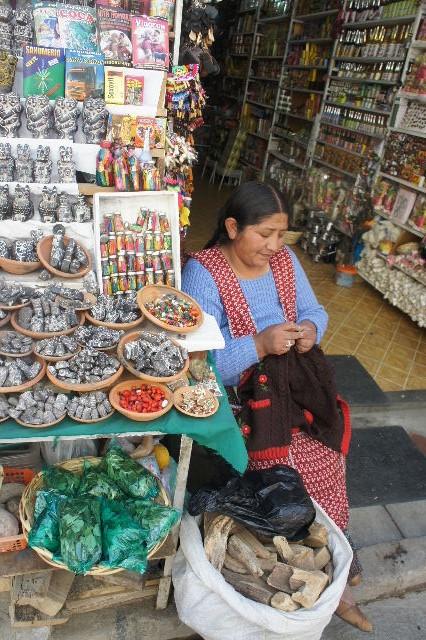 ボリビアの旅(41) 【ラパス】 リナレス通りとラ・カソナでランチ_c0011649_19335034.jpg