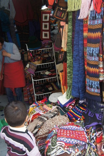 ボリビアの旅(41) 【ラパス】 リナレス通りとラ・カソナでランチ_c0011649_19374881.jpg