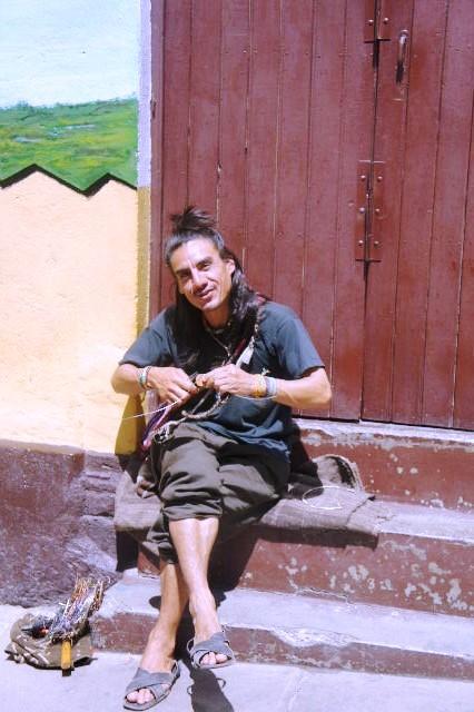 ボリビアの旅(41) 【ラパス】 リナレス通りとラ・カソナでランチ_c0011649_19393635.jpg