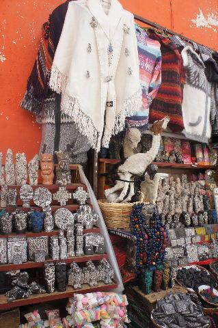 ボリビアの旅(41) 【ラパス】 リナレス通りとラ・カソナでランチ_c0011649_2224528.jpg