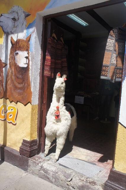 ボリビアの旅(41) 【ラパス】 リナレス通りとラ・カソナでランチ_c0011649_2225890.jpg