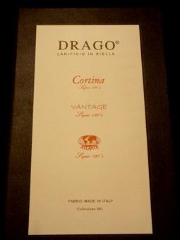 """新着!「DRAGO」 ~Biella, ITALY~ ほど良い""""とろみ""""がイイ感じ! 編_c0177259_2028770.jpg"""