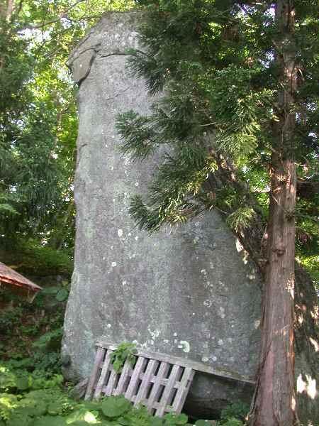 遠野にあるチベットの残存「猿と石(其の一)」_f0075075_10285279.jpg