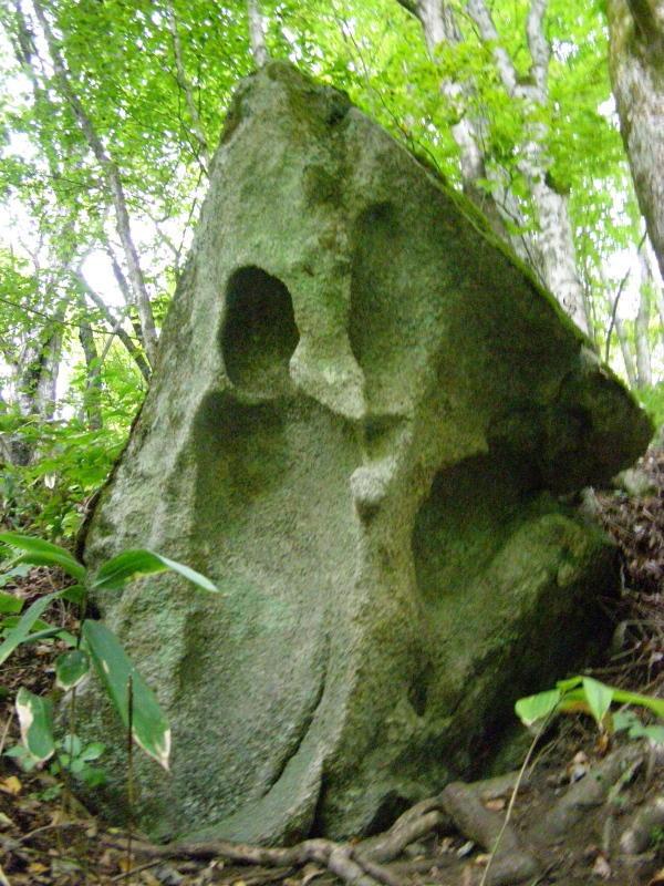 遠野にあるチベットの残存「猿と石(其の一)」_f0075075_9195792.jpg