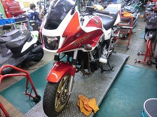 レンタルバイクの整備!_e0114857_1951465.jpg