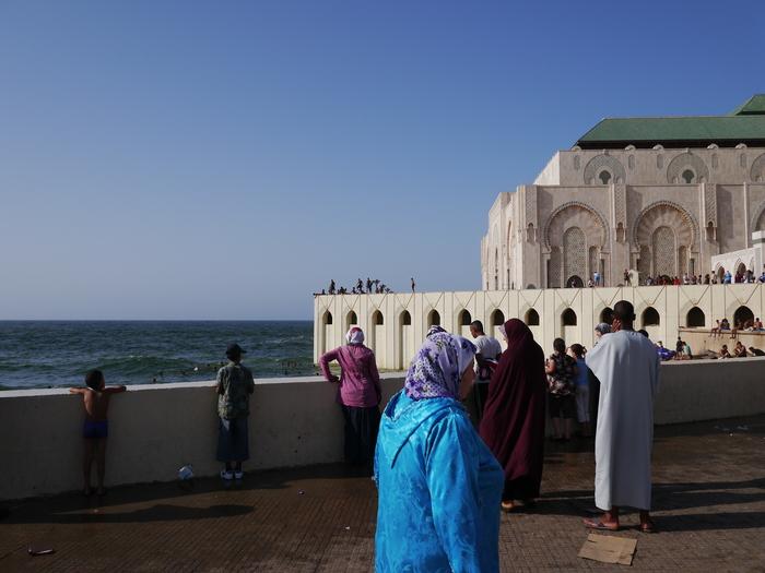 モロッコへ行く。⑬ ~カサブランカは割りといい~_f0232060_1712734.jpg