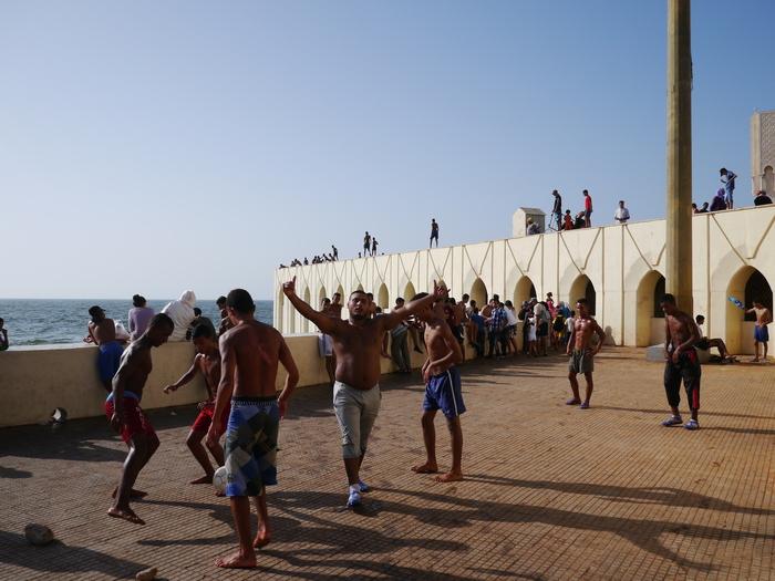 モロッコへ行く。⑬ ~カサブランカは割りといい~_f0232060_17131890.jpg