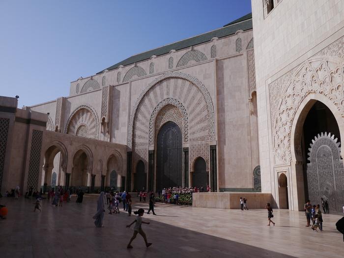 モロッコへ行く。⑬ ~カサブランカは割りといい~_f0232060_1761032.jpg