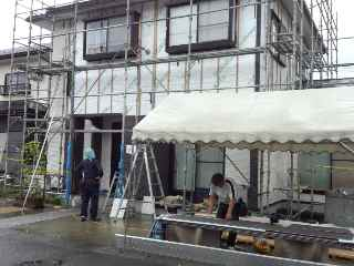 リフォーム  <雨続き・・・>_c0072486_20242228.jpg