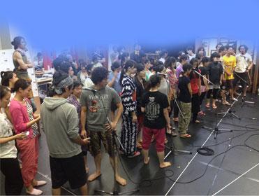 9/7・誕生日☆ お稽古場でサプライズに感激。。_d0224894_2330015.jpg