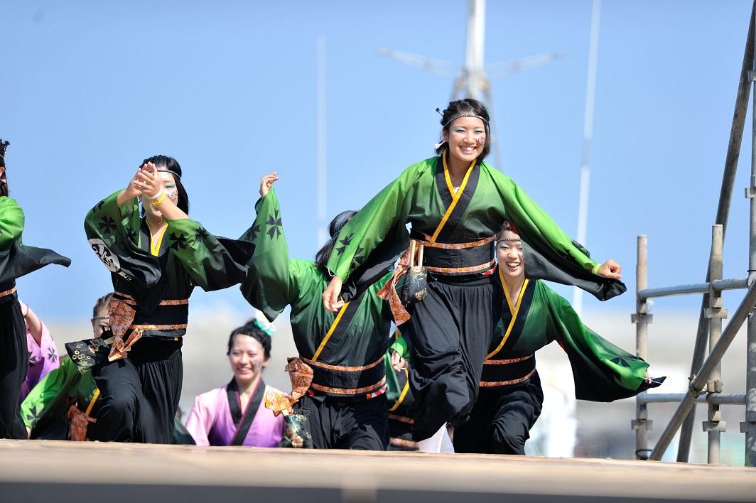 潮風よさこい「静岡大学お茶ノ子祭々」_f0184198_221234.jpg