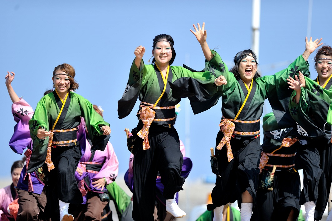 潮風よさこい「静岡大学お茶ノ子祭々」_f0184198_2212840.jpg