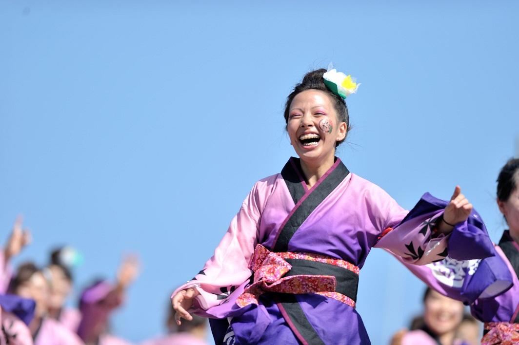 潮風よさこい「静岡大学お茶ノ子祭々」_f0184198_2213394.jpg