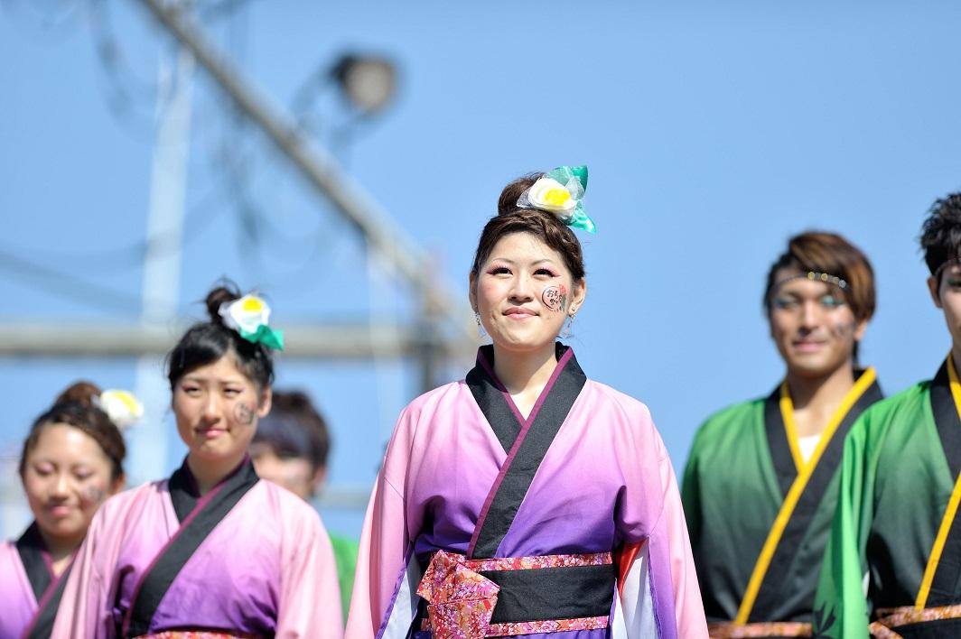 潮風よさこい「静岡大学お茶ノ子祭々」_f0184198_2213993.jpg