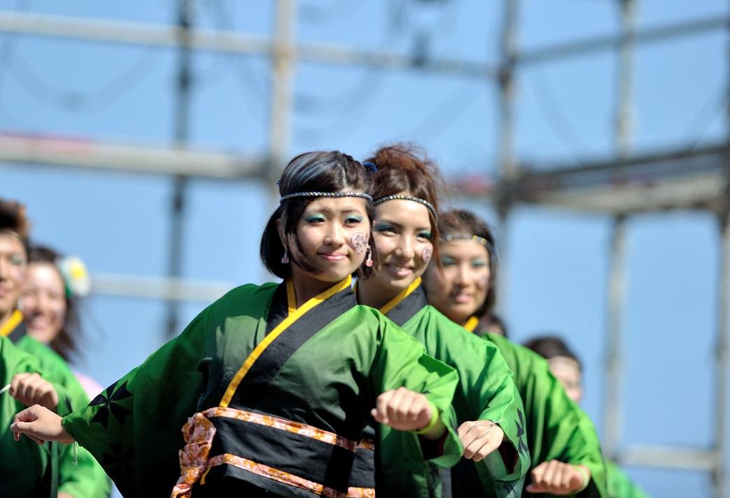 潮風よさこい「静岡大学お茶ノ子祭々」_f0184198_2215757.jpg