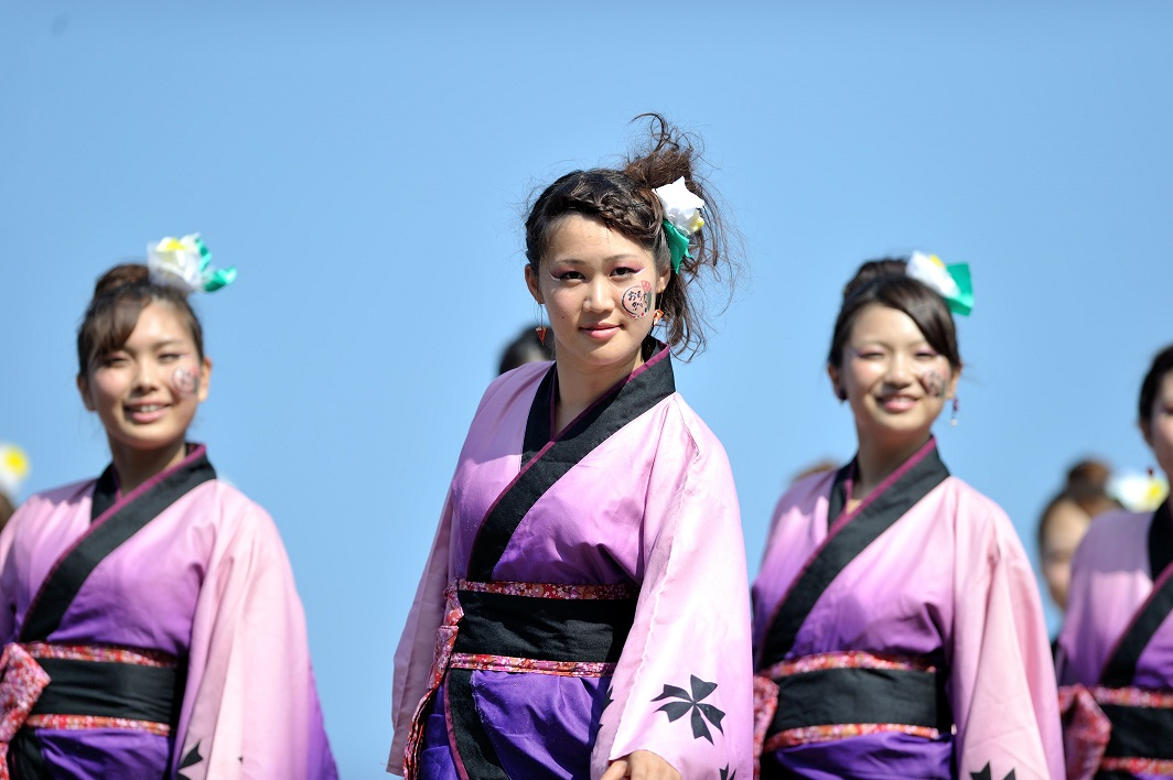 潮風よさこい「静岡大学お茶ノ子祭々」_f0184198_2222432.jpg