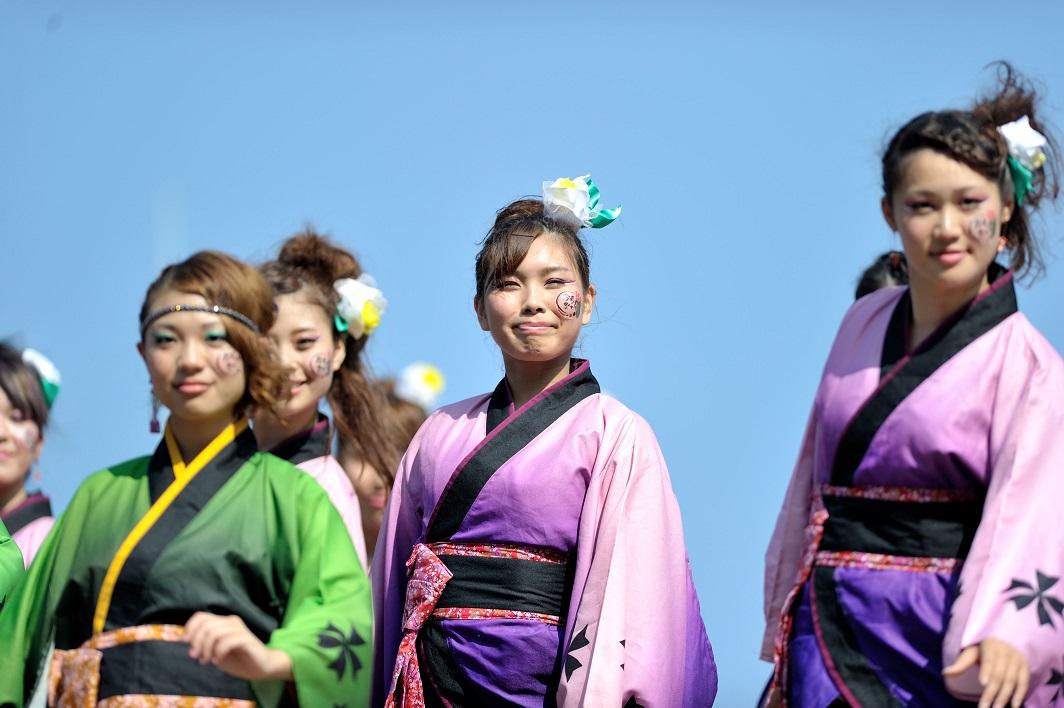 潮風よさこい「静岡大学お茶ノ子祭々」_f0184198_2222977.jpg