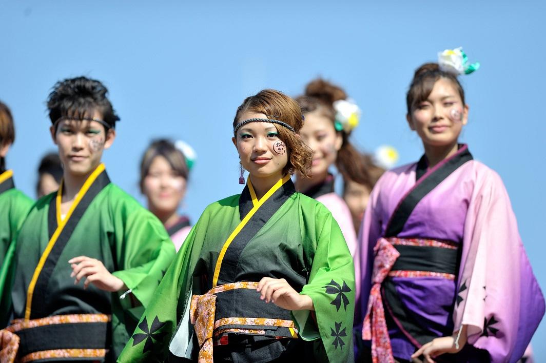 潮風よさこい「静岡大学お茶ノ子祭々」_f0184198_2223752.jpg
