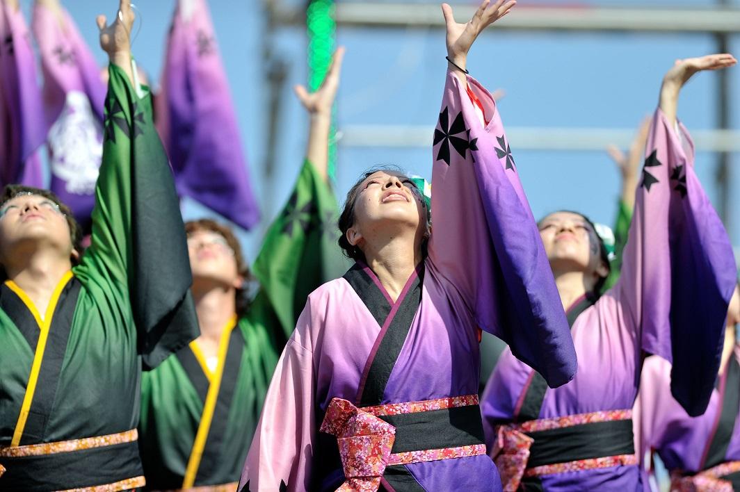 潮風よさこい「静岡大学お茶ノ子祭々」_f0184198_2224882.jpg