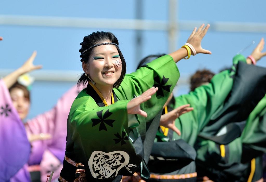 潮風よさこい「静岡大学お茶ノ子祭々」_f0184198_2225423.jpg